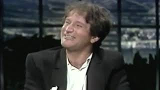 Robin Williams 1st time on Carson w/ Jean Marsh in 1981