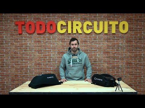 Análisis: mochila y bolsa sobre depósito para moto