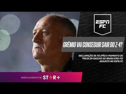 GRÊMIO VAI CONSEGUIR SE SALVAR DO REBAIXAMENTO?   ESPN FC