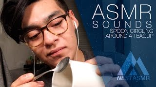 This ASMR sounds will hypnotise you —  Spoon circling a cup | Tuning fork like sounds | No talking
