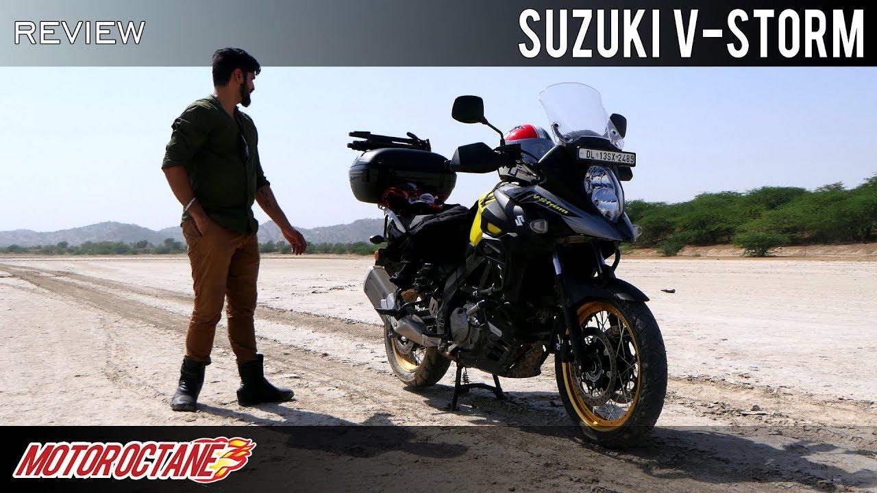 Motoroctane Youtube Video - Suzuki V-Strom 650 Review | Hindi | MotorOctane