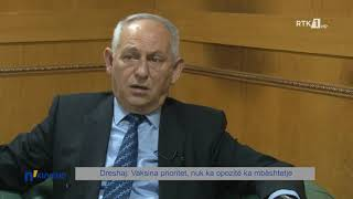 n`KUVEND - Dreshaj: Vaksina prioritet, nuk ka opozitë ka mbështetje 06.05.2021