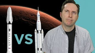 NASA vs SpaceX: Who Will Get To Mars First?   Answers With Joe