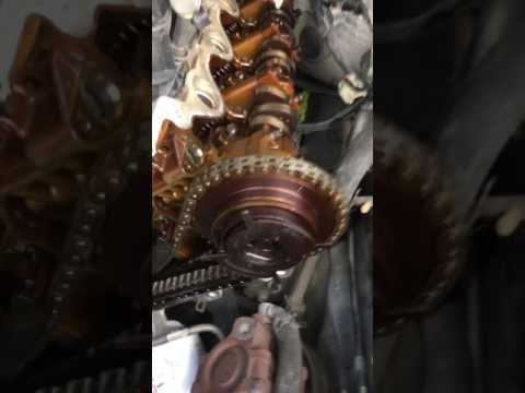 Ford F150 5 4 3V Timing Chain Slack and Guides Failure
