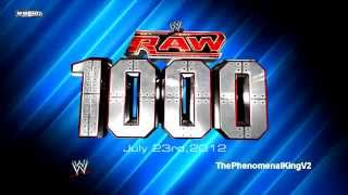 WWE RAW 1,000th Episode Theme Song - 'Tonight Is the Night' + Download Link