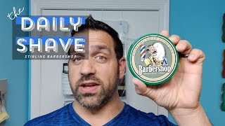 Barbershop By Stirling Soap Co | The Daily Shave