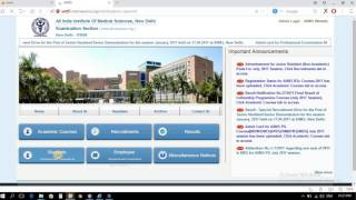 Aiims Admit Card Download 2017 | Aiims Delhi |aiims Admit Card Download With Out Server Block