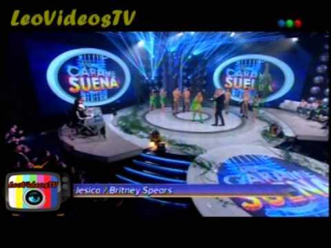 Jesica Cirio es Britney Spears en Tu cara me suena 3 #GH2015 #GranHermano