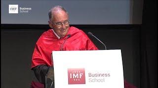 Graduación IMF – Discurso de Nicolás Henríquez