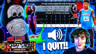 DF VS XT : XT MEMBER STREAM SNIPES ME ON THE $100,000 IN STAGE AND THIS HAPPENED... NBA 2K20