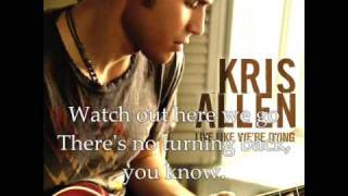 Крис Аллен , Kris Allen-Before We Come Undone