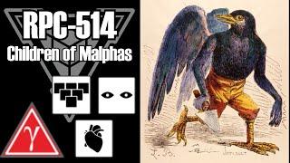 RPC-514 Children of Malphas | Object class Gamma Red | Grouped / sapient / organic hazard
