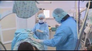В Тюмени с помощью лазера ставят на ноги пациентов с межпозвоночной грыжей