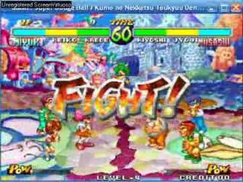 Super Slammin' Dodgeball Playstation