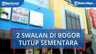 Dua Swalayan di Kota Bogor Tutup Sementara Akibat Adanya Kasus Positif Virus Corona