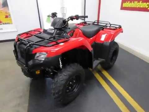 2019 Honda TRX420FM1 in Wichita Falls, Texas - Video 1