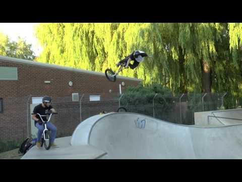 Harry and Dan @ Winchester skatepark