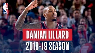 Damian Lillard's Best Plays From the 2018-19 NBA Regular Season