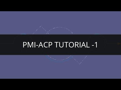 PMI ACP Exam Tutorial for Beginners-1 - YouTube
