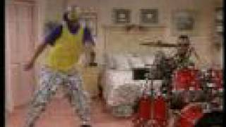 Fresh Prince of Bel Air, Jazzy Jeff on Drums & Dance ****SUBSCRIBE****