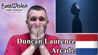 Duncan Laurence - Arcade | The Netherlands Eurovision 2019 REACTION VIDEO