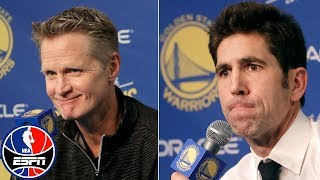 Draymond Green suspension press conference with Steve Kerr, Bob Myers | NBA Sound