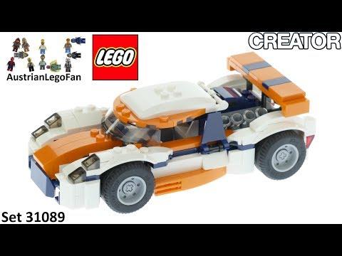 Vidéo LEGO Creator 31089 : La voiture de course