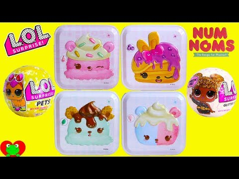 Num Noms Surprise Tins with LOL Surprise Dolls and Pets Toy Video