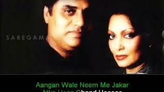 Hum To Hain Pardes Mein | Karaoke With Lyrics - YouTube