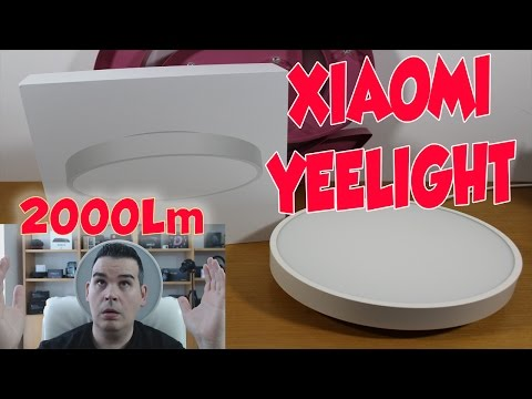 XIAOMI YEELIGHT SMART LED CEILING LIGHT REVIEW 💡