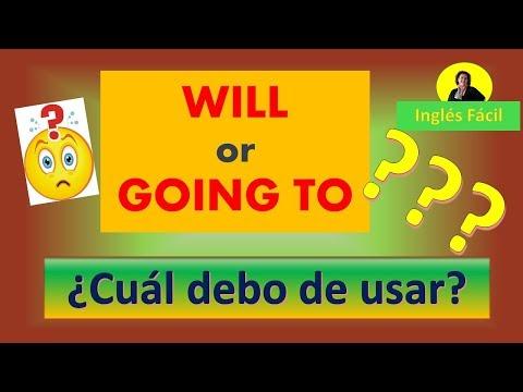 ¿Will or Going to? ¿Cuál debo de usar? Inglés Fácil