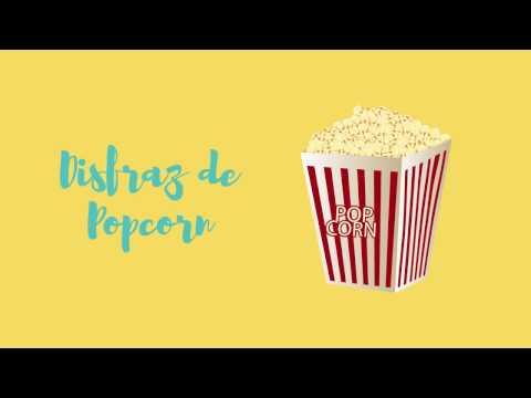 DIY: Disfraz de popcorn 2 profes en apuros