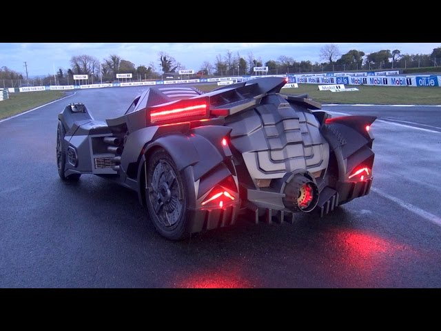 2017 Ford Bronco >> Real Life Arkham Knight Batmobile - The Awesomer