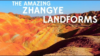 preview picture of video 'GANSU: Rainbow Mountains'