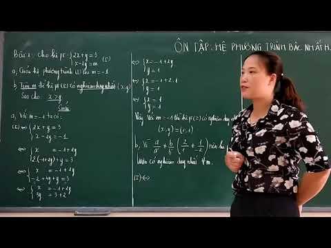 Chuyên đề_Ôn tập hệ phương trình bậc nhất hai ẩn chứa tham số (P2)