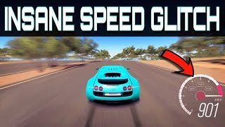 Driving over 900km/h !!! | Forza Horizon 3 | Insane NEW Topspeed Glitch!!