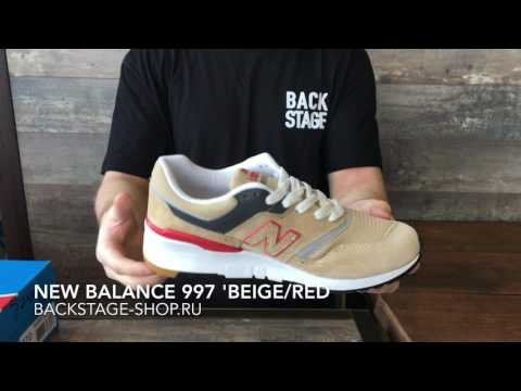 New Balance 997 'Beige/Red'