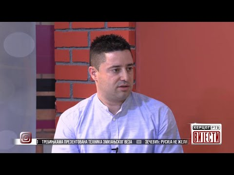 Bojan Čvoro - načelnik Odjeljenja za stambeno-komunalne poslove