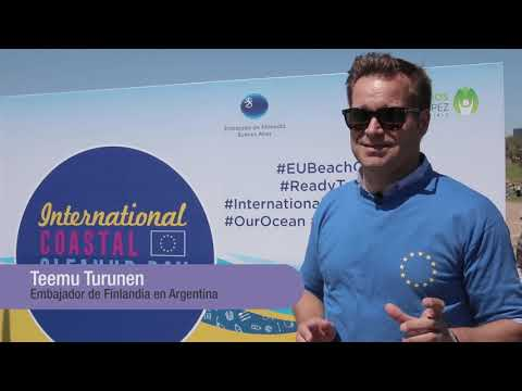 EU Beach Cleanup 2018