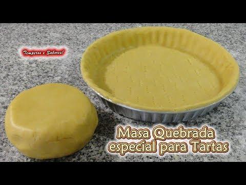 MASA QUEBRADA para Tartas y otras Recetas, bien fácil