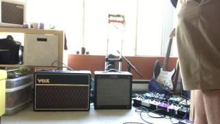 WetDry Amp Setup   Vox AC10C1 & Fromel Modded Fender Pro Jr. Part 3