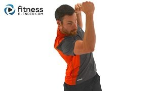 Total Body HIIT and Kick - Cardio Kickboxing and High Intensity Interval Training Combo by FitnessBlender
