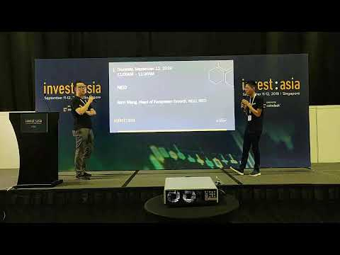 CoinGecko is live with Lou Luu of Kyber Network in Changelog at Invest:Asia 2019