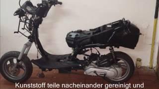 ремонт скутера peugeot elyseo 125