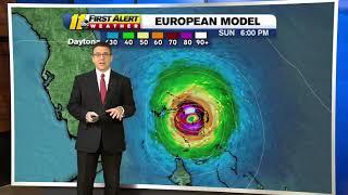 Update on Hurricane Dorian 2019: Category 5 hurricane tracks toward Bahamas