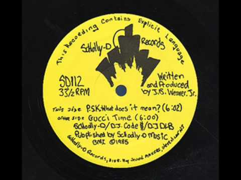 Schoolly D- PSK, What Does It Mean?
