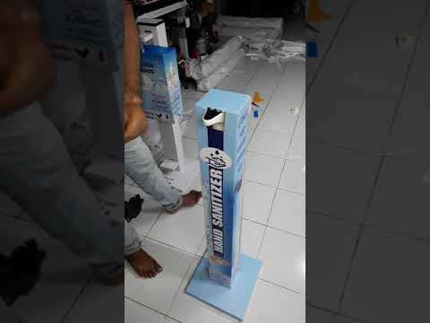 Attractive Foot Operated Sanitizer Dispenser