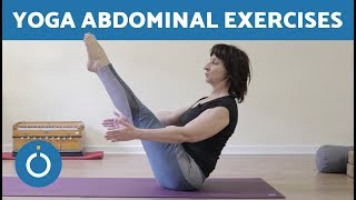 How to Strengthen Abdominal Muscles - YOGA FOR BEGINNERS