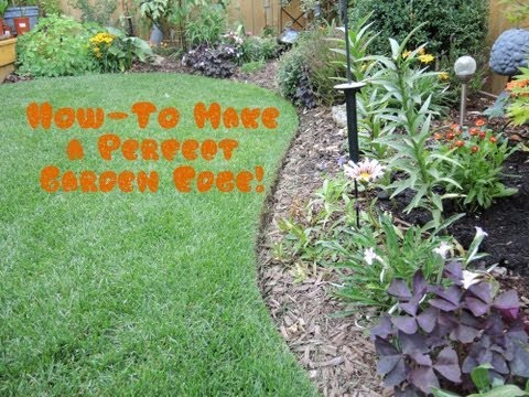 How To give your Lawn the Perfect Edge
