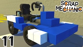 CONSTRUCTION D'UN KART ! | Scrap Mechanic ! #Ep11